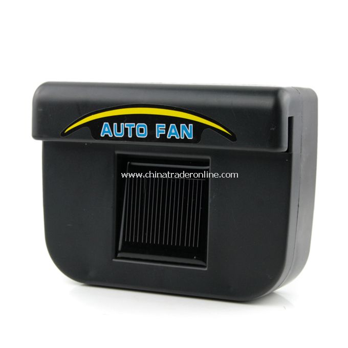 Solar Powered Car Auto Air Vent Cooling Fan System As Seen on TV