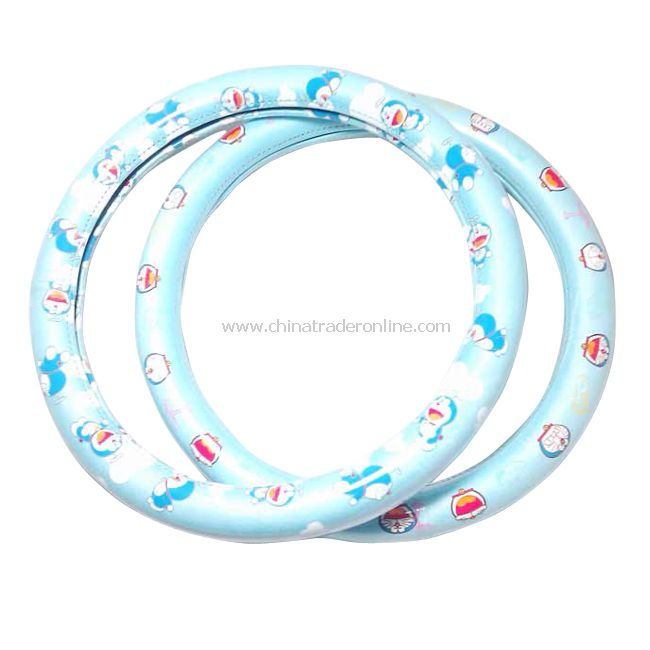 Lovely Cartoon Doraemon Auto Car Steering Wheel Cover New