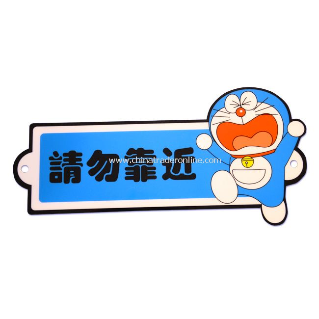 "New Doraemon ""Keep Away"" Safety Car Sign Decal Sticker"