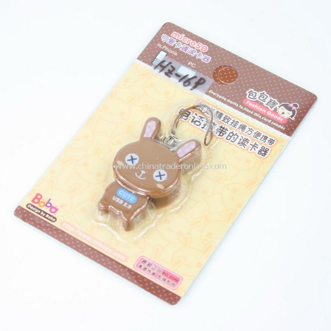 coffee rabbit Cartoon Mobile Reader