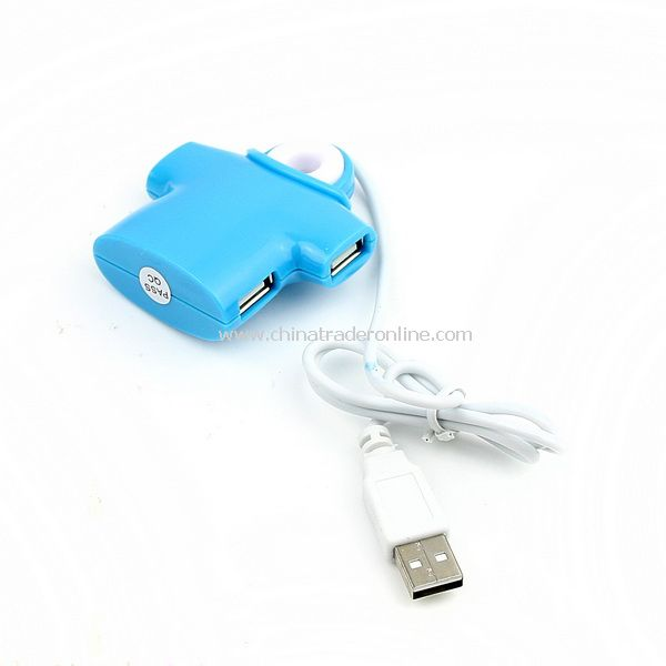 PC Computer Laptop Portable 4 in 1 USB 2.0 Hub New from China