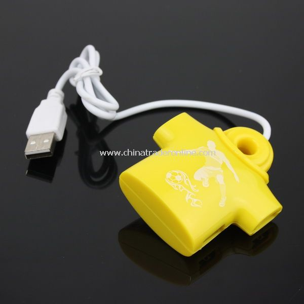 T-shirt shaped 4-Port USB 2.0 Hub for Computer Laptop PC
