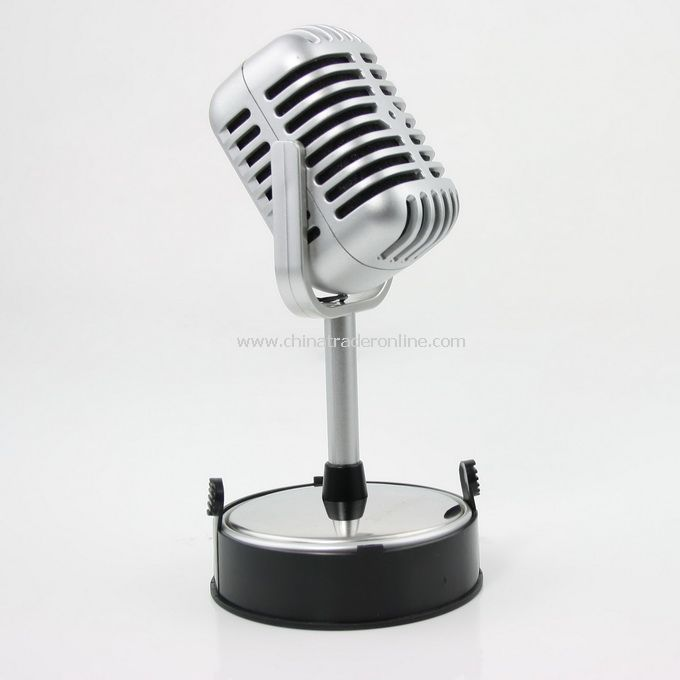 New Mini Microphone MIC Desktop Stand PC Laptop 3.5mm from China
