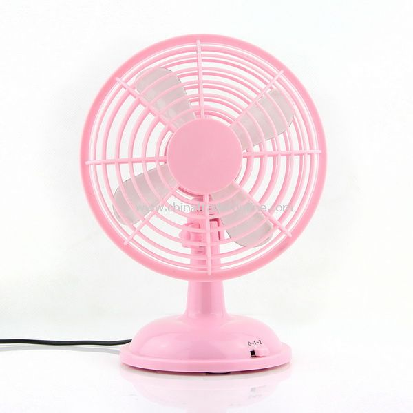 USB Powered Mini Desktop Cooling Fan for Laptop PC