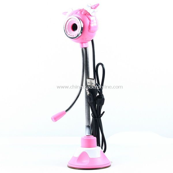 5.0 Mega Camera Sheep Shaped PC Webcam w/ Mic