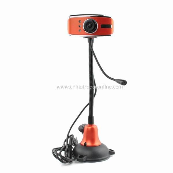 5.0 Mega pixel USB Digital PC Camera Webcam w/ Mic LED Light from China