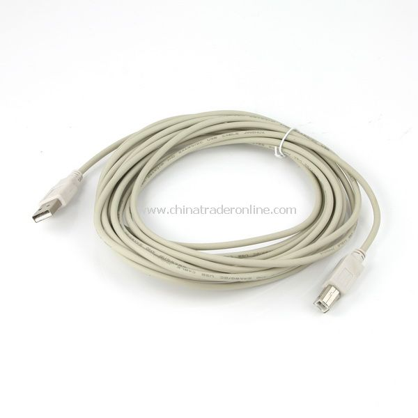 10 Ft 3m USB 2.0 Cable A to B Printer for PC High Speed from China