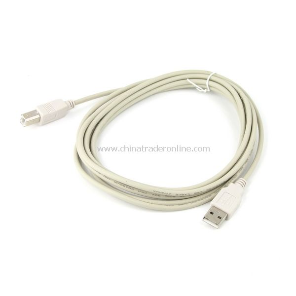 16 Ft 5m USB 2.0 Cable A to B Printer for PC High Speed