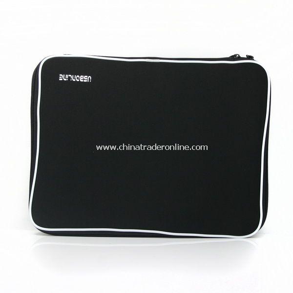 Top Black Laptop Sleeve Case Bag for 15 Inch Notebook