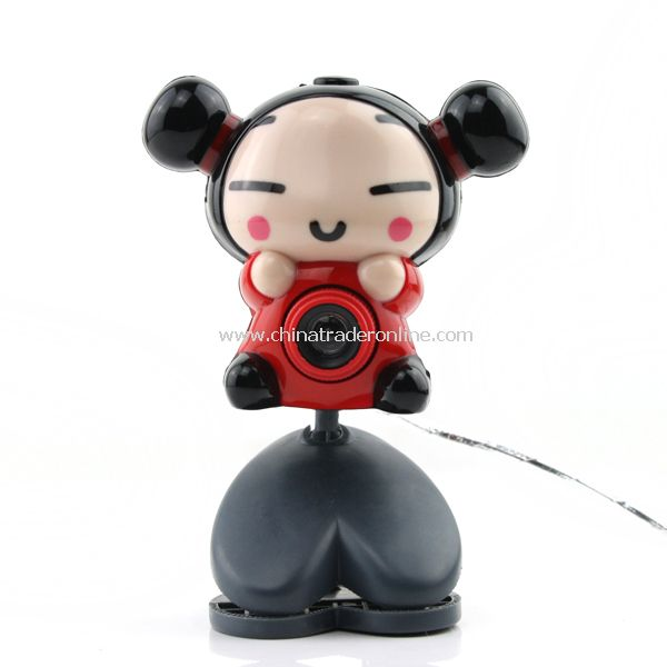 Cartoon USB Webcam Camera Web Cam for Desktop PC Laptop