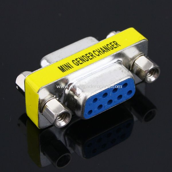 DB9P RS232 Female to Female Connector
