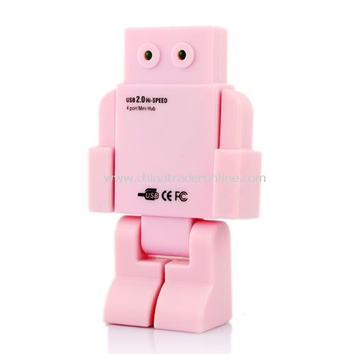 LED EYES ROBOT HUB(pink)