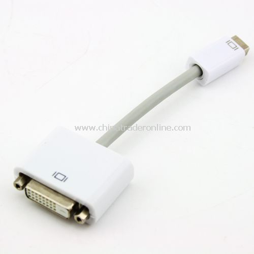 Mini DisplayPort to DVI Adapter/Converter Cable 24+1
