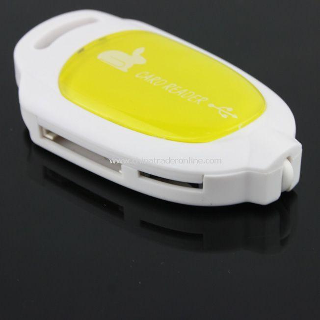 New USB 2.4 Multi Memory Card Reader TF/SD/MMC/SD-HC/MS from China