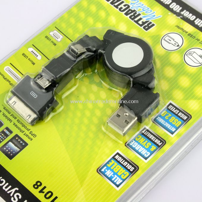 Universal Sync/Charge Cable from China