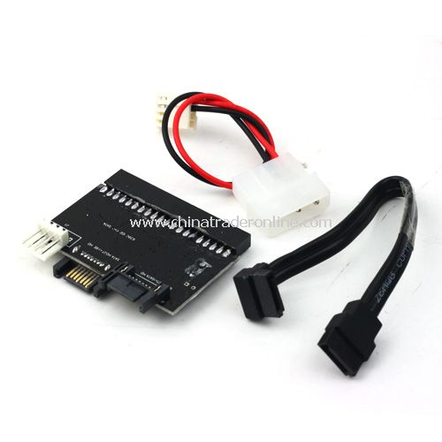 2 Way 40pin IDE To SATA or SATA To IDE Converter Adapter for Hard Drive HDD DVD