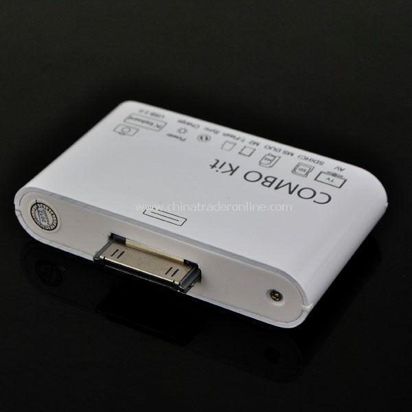 COMBO Kit Connection SD Card Reader + USB AV Cable for Apple iPad 2