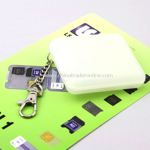 Memory Card Holder Case for Standard SDHC TF SD Card/Adapter & Micro SD CARD