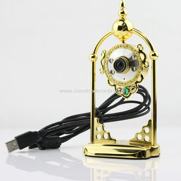 USB 2.0 4 LED Light Web Cam Camera for PC Laptop MSN New