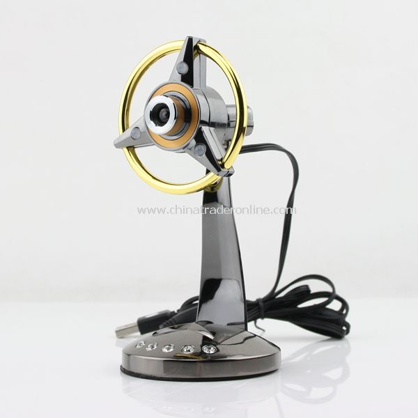USB 2.0 LED Light Web Cam Camera for PC Laptop MSN New