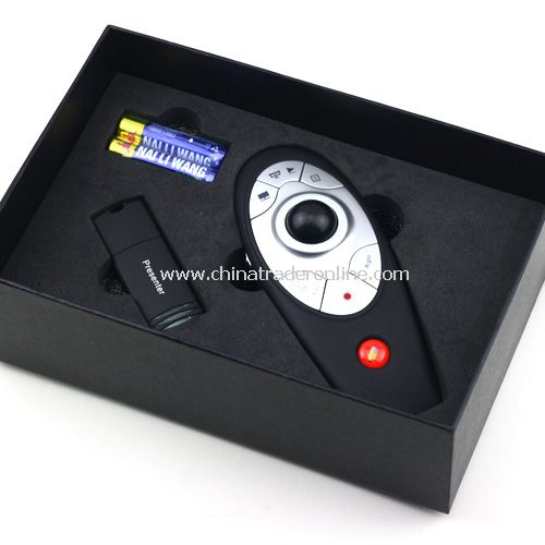 USB Remote Red Laser Wireless Pointer Control Powerpoint Presentation Presentor