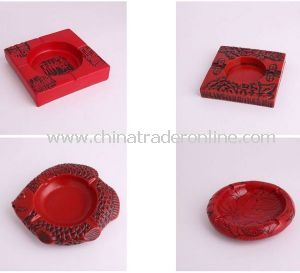 China Style Resin Ashtray, Antique Ashtray for Souvenir