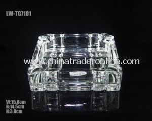 Rectangle Glass Ashtray