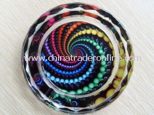 Art Deco Glass Ashtrays