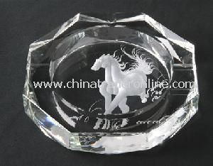 Crystal Glass Ashtray from China
