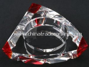 Crystal Glass Smoking Ashtray
