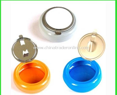Mini Portable Metal Ashtray