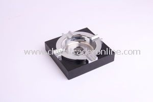 Ashtrays, Cigar Ashtrays, Cheap Metal Cigar Ashtrays, Square Shaped Ashtrays from China
