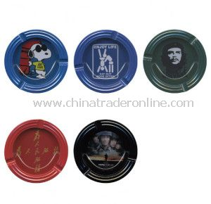 High Quality Round Tin Ashtray, Tin Ashtray, Pocket Ashtray/Portable Ashtray/Promotional Ashtray