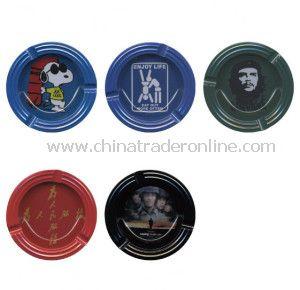 High Quality Round Tin Ashtray, Tin Ashtray, Pocket Ashtray/Portable Ashtray/Promotional Ashtray