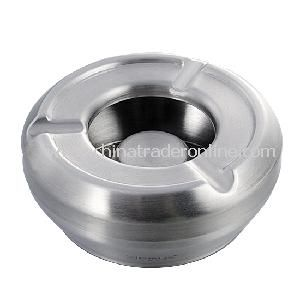 Stainless Steel Ashtray Round Metal Ashtray, Durable and Long Lasting Use