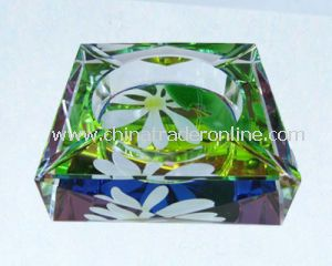 Crystal Cigarette Ashtray from China