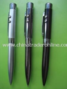 3-in-1 Laser LED PDA Ball Pen from China