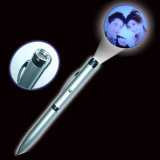 LED Light up Image Projection Pen