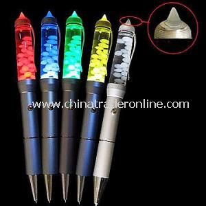 Cool Liquid PDA Pen with 7 Color