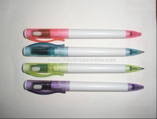 LED Light Ball Point Pen