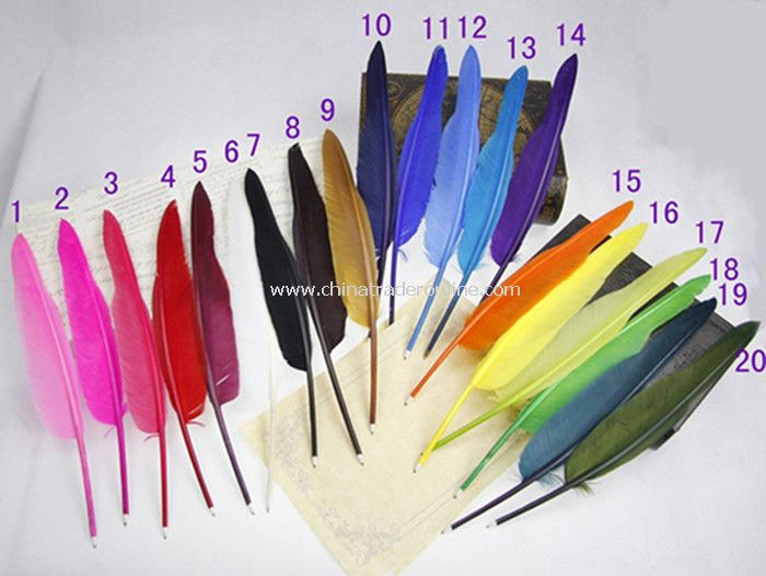 Promotional Goose Feather Pen