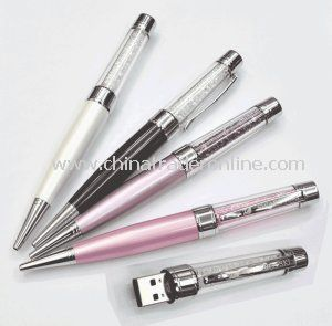 Beautiful Crystal USB Flash Drive Memory Stick Pen