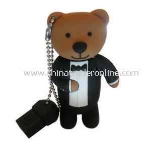 Cartoon USB, Animal USB, Bear, Panda USB Memory Pen from China