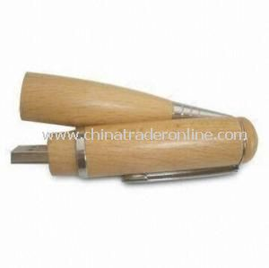 Eco-Friendly Wooden USB Flash Memory Pen USB