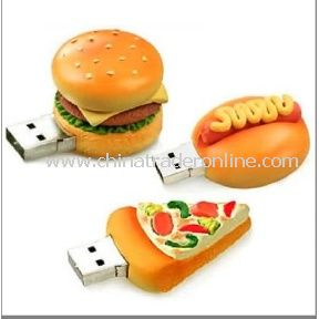 Food USB Gift, Hamburger Gift USB, Christmas USB Flash Pen from China