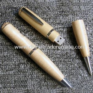 Wooden USB Pen with Full Memory