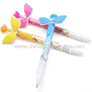 Promotional Butterfly Decorative Animal Ballpoint Pen with Animals Design, Customized Design/Logo, OEM Orders Are Welcome from China