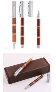 2014 New Design Metal Roller Pen with Gift Box