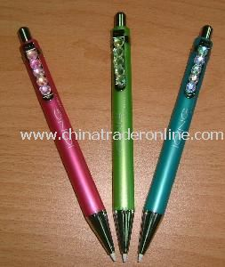 Fashion Plastic Gel Pen with Jumbo Refill and 1.0mm Roller Tip, Comes in Black and Blue from China