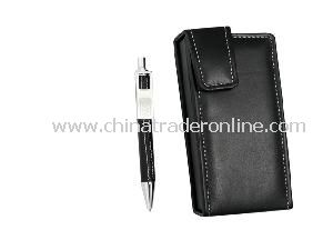Metal Ball Pen & Leather Ball Pen